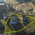 przykładowe zdjęcia lotnicze - przebieg granic nieruchomości