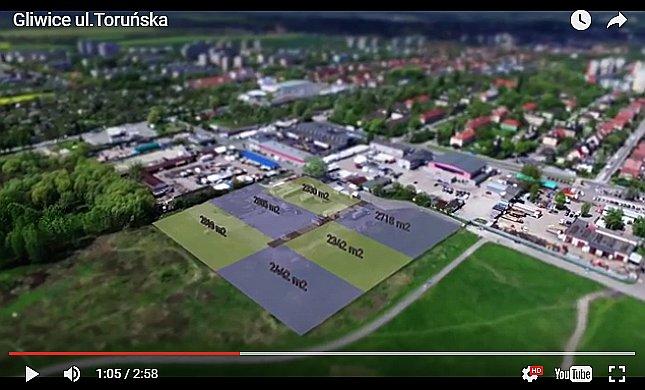 działki inwestycyjne Gliwice